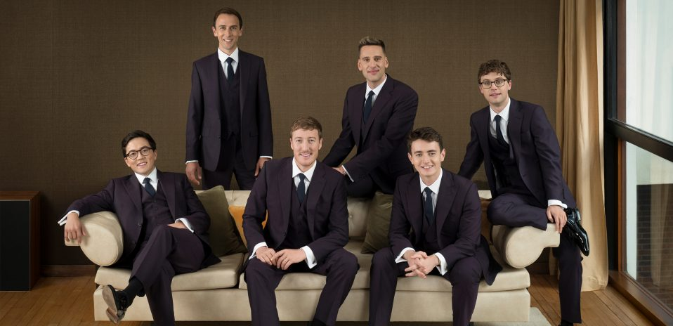 The King's Singers photo by Rebecca Reid